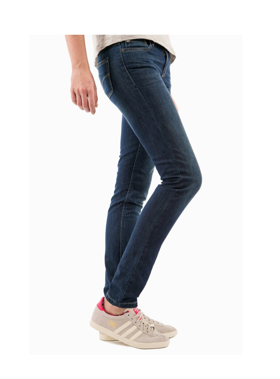 Adidas Super Skinny Fit Women Jeans Navy Blue Mart And Mart