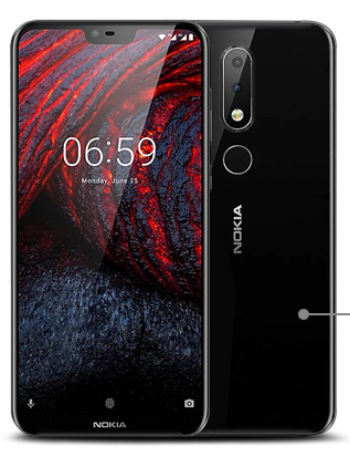 nokia 6.1 smart phone